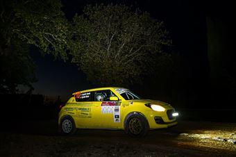 Argentin Claudio Argentin Marco, Suzuki Swift R1 #110, CAMPIONATO ITALIANO RALLY