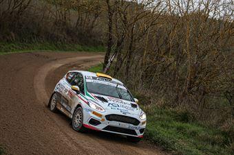 Michele Bormolini Nicolo Gonella, Ford Fiesta R2B #57, CAMPIONATO ITALIANO RALLY