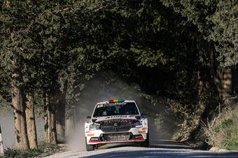 Marco Bulacia Marcelo Der Ohannesian, Skoda Fabia R5 #11, Meteco Corse, CAMPIONATO ITALIANO RALLY