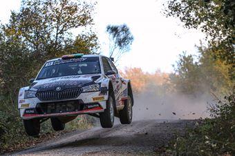 Marco Bulacia Marcelo Der Ohannesian; Skoda Fabia R5 #11; Meteco Corse, CAMPIONATO ITALIANO RALLY