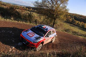 Antonio Cairoli, Anna Tomasi, Hyundai i20 R5 #14, CAMPIONATO ITALIANO RALLY