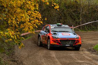Antonio Cairoli Anna Tomasi, Hyundai i20 R5 #14, BRC Racing Team, CAMPIONATO ITALIANO RALLY