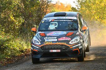 Daniele Campanaro Irene Porcu, Ford Fiesta R4 #59, Gass Racing, CAMPIONATO ITALIANO RALLY