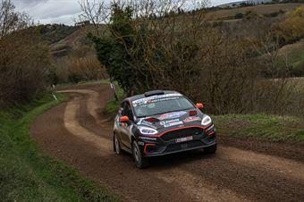 Daniele Campanaro Irene Porcu, Ford Fiesta R2B #59, Gass Racing, CAMPIONATO ITALIANO RALLY