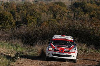 Lorenzo Costi Matteo Lamecchi, Renault Clio R3C #49, CAMPIONATO ITALIANO RALLY
