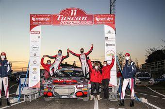 Andrea Crugnola Pietro Elia Ometto, Citroen C3 R5 #2, FpF Sport, CAMPIONATO ITALIANO RALLY