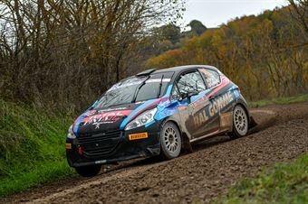 Fabio Farina Luca Guglielmetti, Peugeot 208 R2 #73, Pintarally Motorsport, CAMPIONATO ITALIANO RALLY