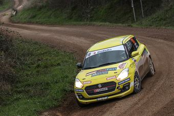 Simone Goldoni Eric Macori, Suzuki Swift R1 #108, CAMPIONATO ITALIANO RALLY