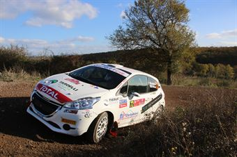 Lucchesi Jr Marco Pollicino, Peugeot 208 R2 #72, Project Team, CAMPIONATO ITALIANO RALLY