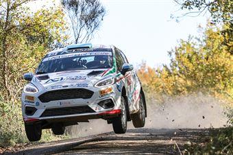 Andrea Mazzocchi Silvia Gallotti, Ford Fiesta R2B #53, Leonessa Corse, CAMPIONATO ITALIANO RALLY