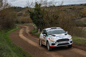 Riccardo Pederzani Sofia D Ambrosio, Ford Fiesta R2B #58, MS Munaretto, CAMPIONATO ITALIANO RALLY