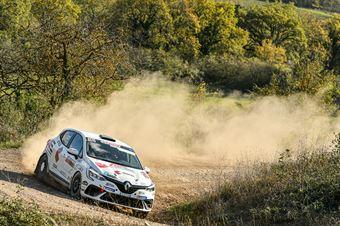 Davide Porta Andrea Segir, Renault Clio RS Line R1 #103, Winners Rally Team, CAMPIONATO ITALIANO RALLY