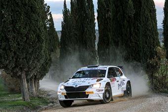 Alessio Profeta Sergio Raccuia, Skoda Fabia R5 #9, Island Motorsport, CAMPIONATO ITALIANO RALLY