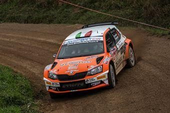 Giacomo Scattolon Mauro Marchiori, Skoda Fabia R5 #4,Movisport, CAMPIONATO ITALIANO RALLY