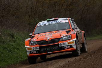 Giacomo Scattolon Mauro Marchiori; Skoda Fabia R5 #4; Movisport, CAMPIONATO ITALIANO RALLY