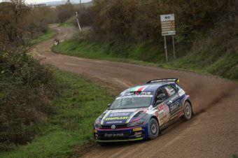 Marco Signor Francesco Pezzoli, Volkswagen Polo R5 #3, SAMA Racing, CAMPIONATO ITALIANO RALLY