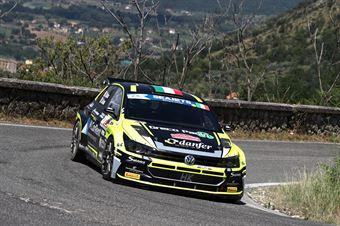 Giandomenico Basso Lorenzo Granai, Volkswagen Polo R5 #1, ITALIAN RALLY CHAMPIONSHIP