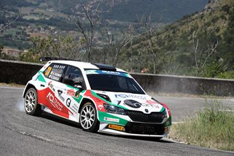 Alberto Battistolli Simone Scattolin, Skoda Fabia R5 #23, CAMPIONATO ITALIANO RALLY