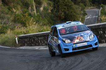 Sergio Emiliano Biondi Giovanni Barbaro, Renault Twingo R2 #91, CAMPIONATO ITALIANO RALLY