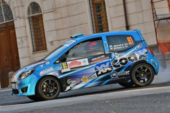 Sergio Emiliano Biondi Giovanni Barbaro, Renault Twingo R2 #91, ITALIAN RALLY CHAMPIONSHIP