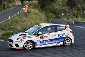Michele Bormolini Daniel Pozzi, Ford Fiesta RC4 #88, ITALIAN RALLY CHAMPIONSHIP