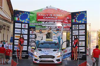 Michele Bormolini Daniel Pozzi, Ford Fiesta RC4 #88, CAMPIONATO ITALIANO RALLY