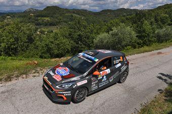 Daniele Campanaro Irene Porcu, Ford Fiesta RC4 #90, CAMPIONATO ITALIANO RALLY