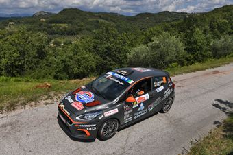 Daniele Campanaro Irene Porcu, Ford Fiesta RC4 #90, ITALIAN RALLY CHAMPIONSHIP