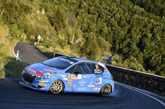 Alessandro Casella Rosario Siragusano, Peugeot 208R2 #94, ITALIAN RALLY CHAMPIONSHIP