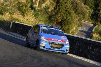 Alessandro Casella Rosario Siragusano, Peugeot 208R2 #94, CAMPIONATO ITALIANO RALLY