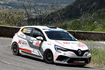 Nicola Cazzaro Nicolo Lazzarini, Renault Clio Rally #98, CAMPIONATO ITALIANO RALLY