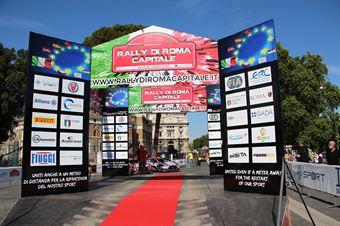 Partenza Castel Sant'Ángelo, CAMPIONATO ITALIANO RALLY