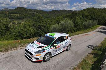 Giorgio Cogni Gabriele Zanni, Ford Fiesta RC4 #85, CAMPIONATO ITALIANO RALLY