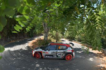 Andrea Crugnola Pietro Ometto, Citroen C3 R5 #8, FPF Sport, CAMPIONATO ITALIANO RALLY
