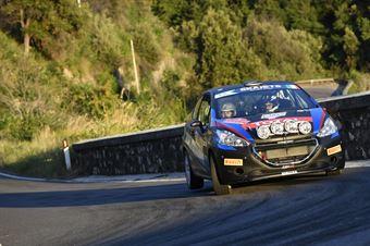 Fabio Farina Luca Guglielmetti, Peugeot 208 R2 #95, CAMPIONATO ITALIANO RALLY