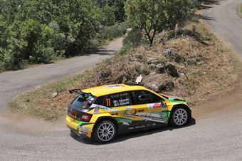 Ivan Ferrarotti Fabio Grimaldi, Skoda Fabia R5 #77, Meteco Corse, CAMPIONATO ITALIANO RALLY