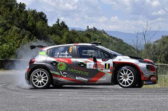 Marijan Griebel Pirmin Winklhofer, Citroen C3 R5 #6, ITALIAN RALLY CHAMPIONSHIP