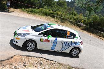Martina Iacampo Titti Ghilardi, Peugeot 208 R2 #96, ITALIAN RALLY CHAMPIONSHIP