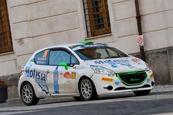 Martina Iacampo Titti Ghilardi, Peugeot 208 R2 #96, CAMPIONATO ITALIANO RALLY