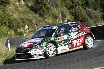 Emil Lindholm Mikael Korhonen, Skoda Fabia R5 #21, CAMPIONATO ITALIANO RALLY