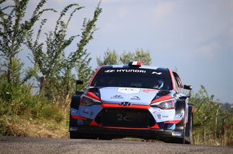 Pierre Louis Loubet Vincent Landais, Hyundai i20 Coupe WRC #102, CAMPIONATO ITALIANO RALLY