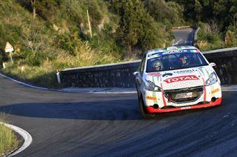 Cristopher Lucchesi Jr Marco Pollicino, Peugeot 208 R2 #92, CAMPIONATO ITALIANO RALLY