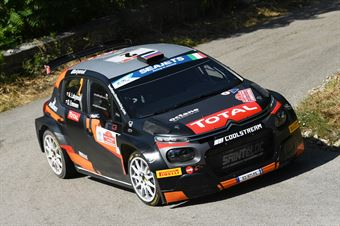 Alexey Lukyanuk Dmitry Eremeev, Citroen C3 R5 #2, CAMPIONATO ITALIANO RALLY