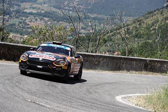Andrea Mabellini Nicola Arena, Abarth 124 Rally #36, CAMPIONATO ITALIANO RALLY
