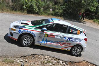 Andrea Mazzocchi Silvia Gallotti, Ford Fiesta R2 #83, Leonessa Corse, CAMPIONATO ITALIANO RALLY