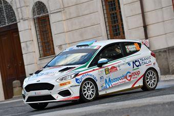 Andrea Mazzocchi Silvia Gallotti, Ford Fiesta RC4 #83, CAMPIONATO ITALIANO RALLY