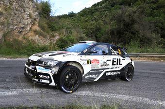 Rudy Michelini Michele Perna, Volkswagen Polo R5 #71, CAMPIONATO ITALIANO RALLY
