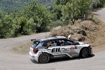 Rudy Michelini Michele Perna, Volkswagen Polo R5 #71, Movisport, CAMPIONATO ITALIANO RALLY