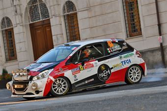Davide Nicelli Alessandro Mattioda, Peugeot 208 R2 #93, ITALIAN RALLY CHAMPIONSHIP