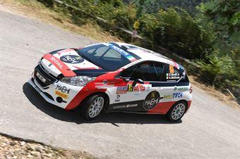Davide Nicelli Alessandro Mattioda, Peugeot 208 R2 #93, MM Motorsport, ITALIAN RALLY CHAMPIONSHIP